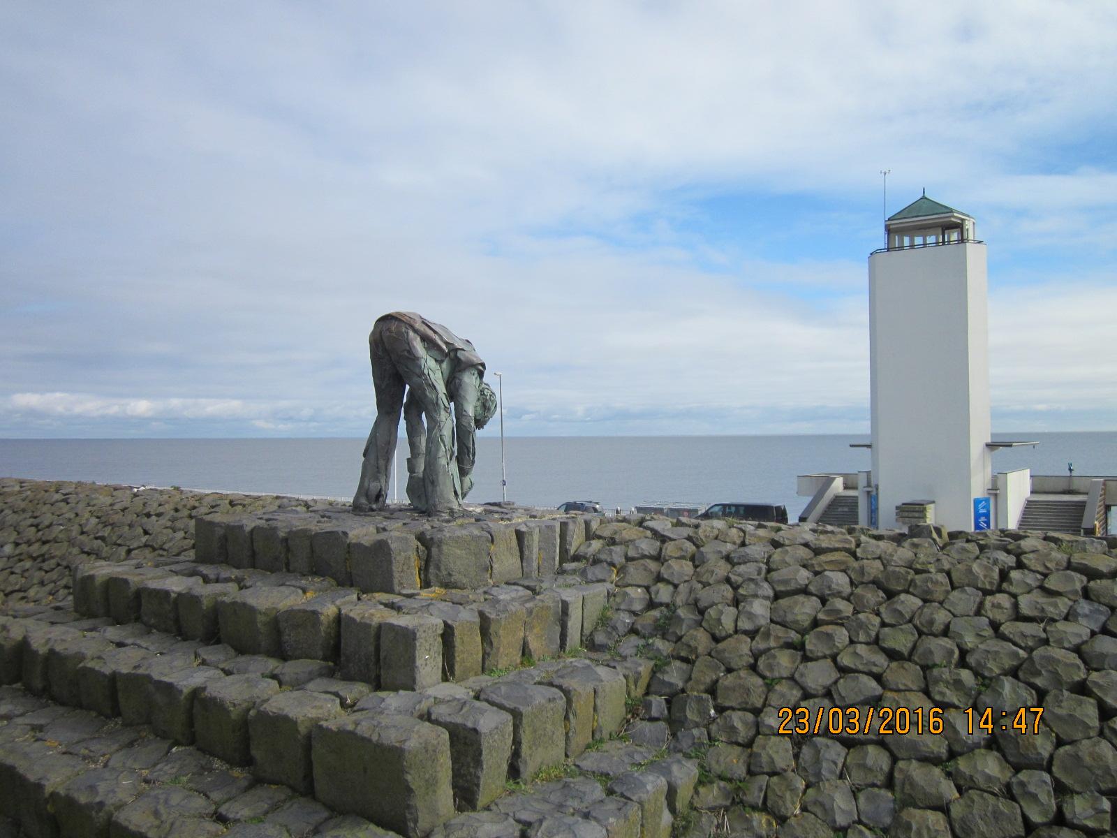 Denkmal für die Erbauer des Deiches