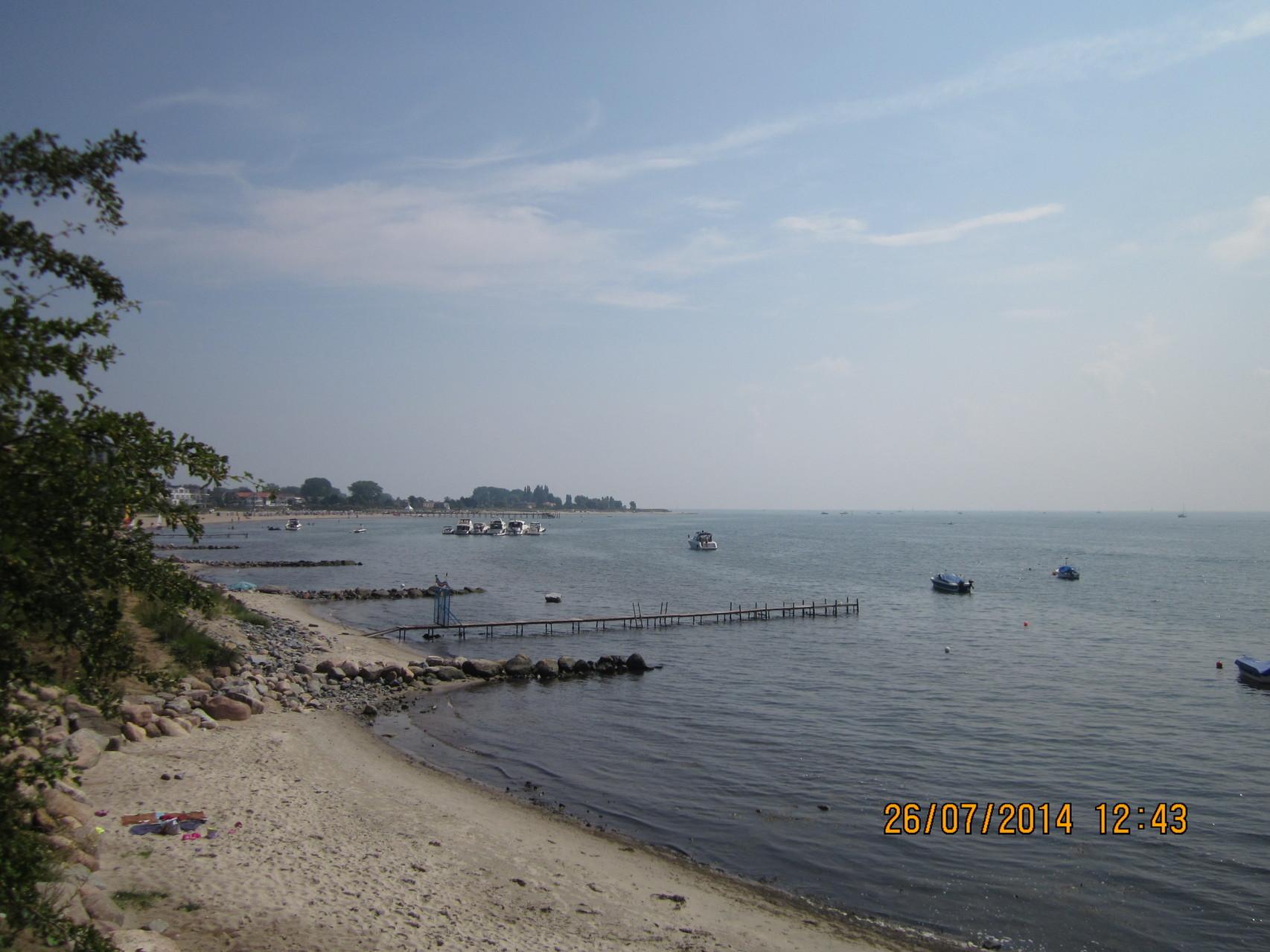 Strandabschnitt in Neustadt