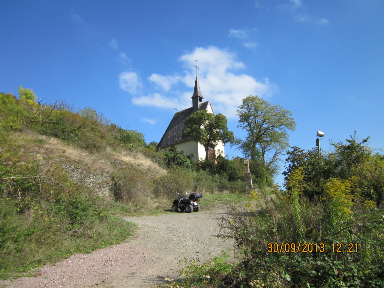Kapelle oberhalb Pommern