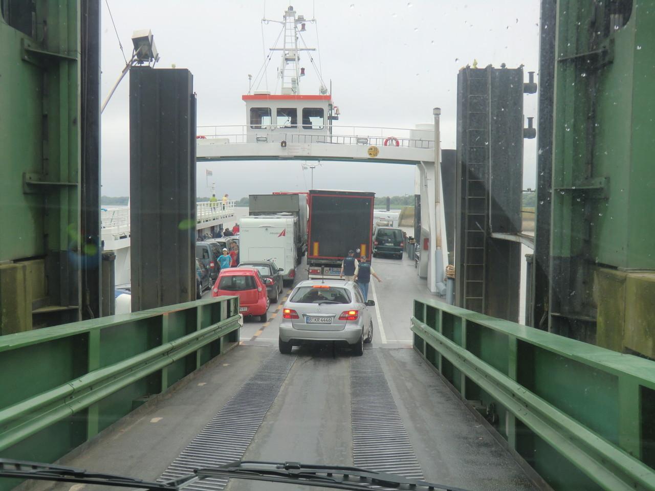Mit dem Womo auf die Fähre nach Wischhafen