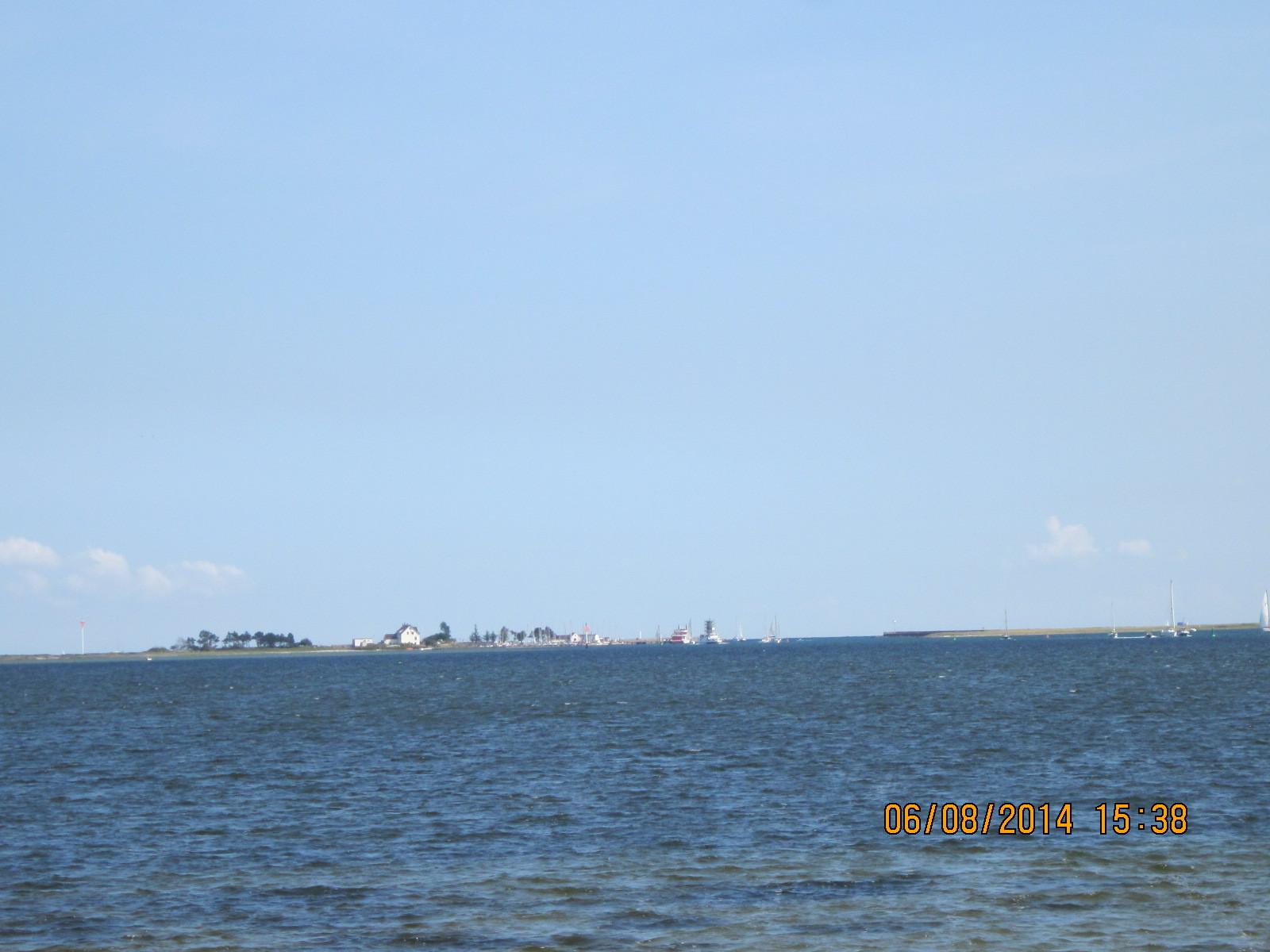 Blick zur Insel