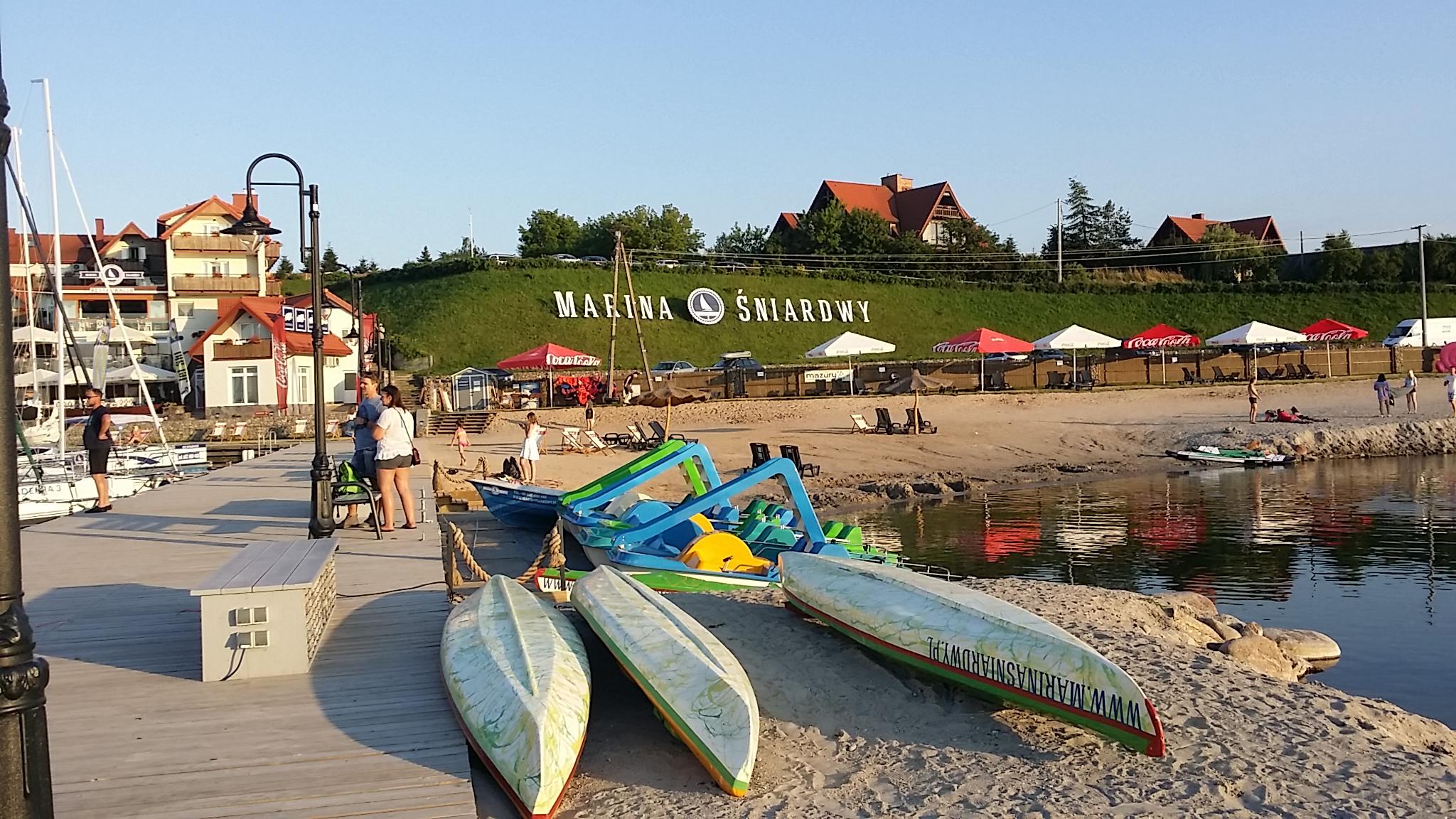 Hafen von Nowe Guty