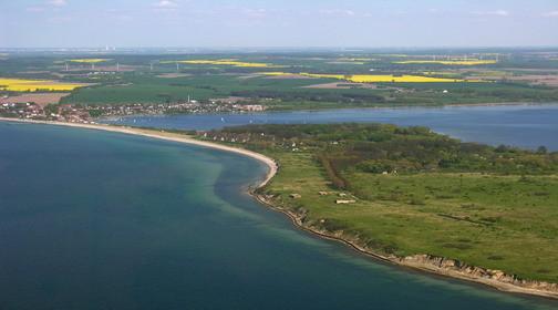 Halbinsel Wustrow mit Rerik