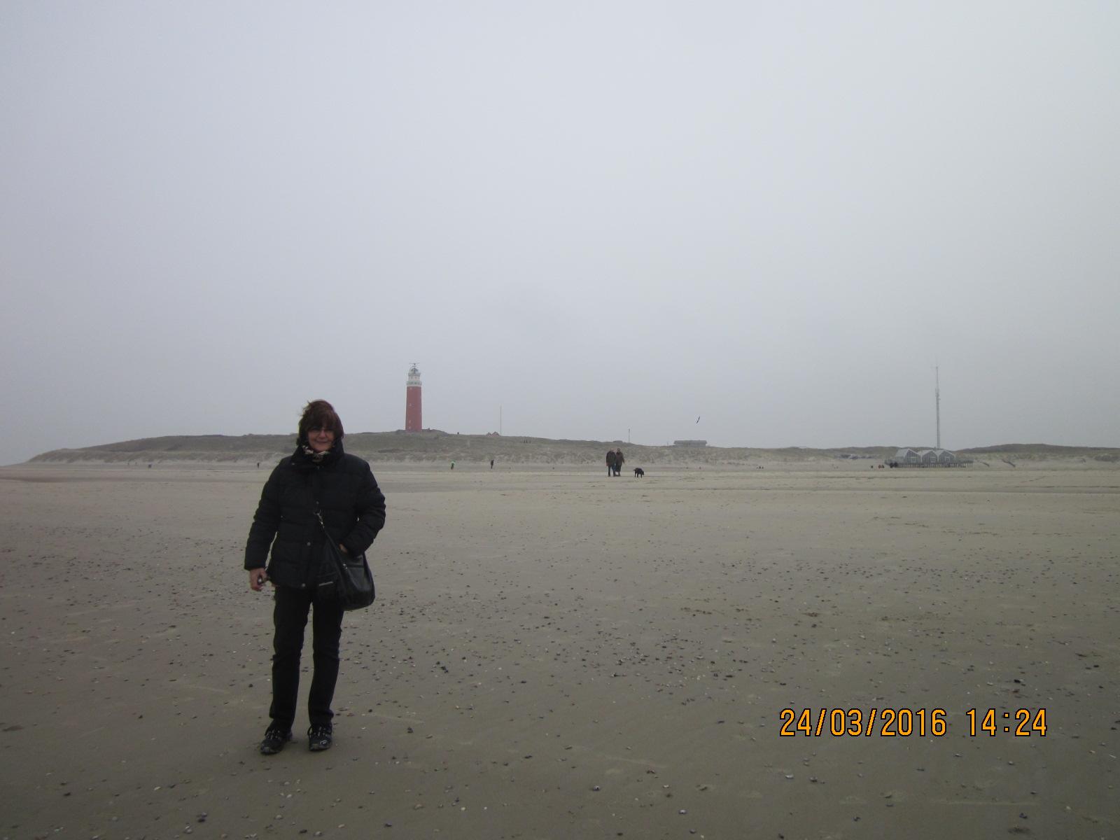 es war kalt und windig