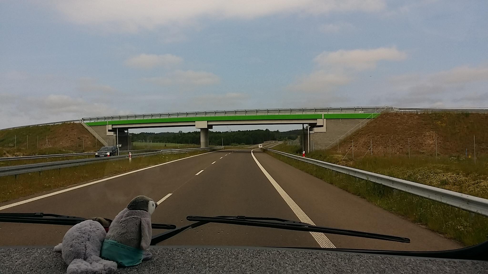 Autobahn nach Kolberg