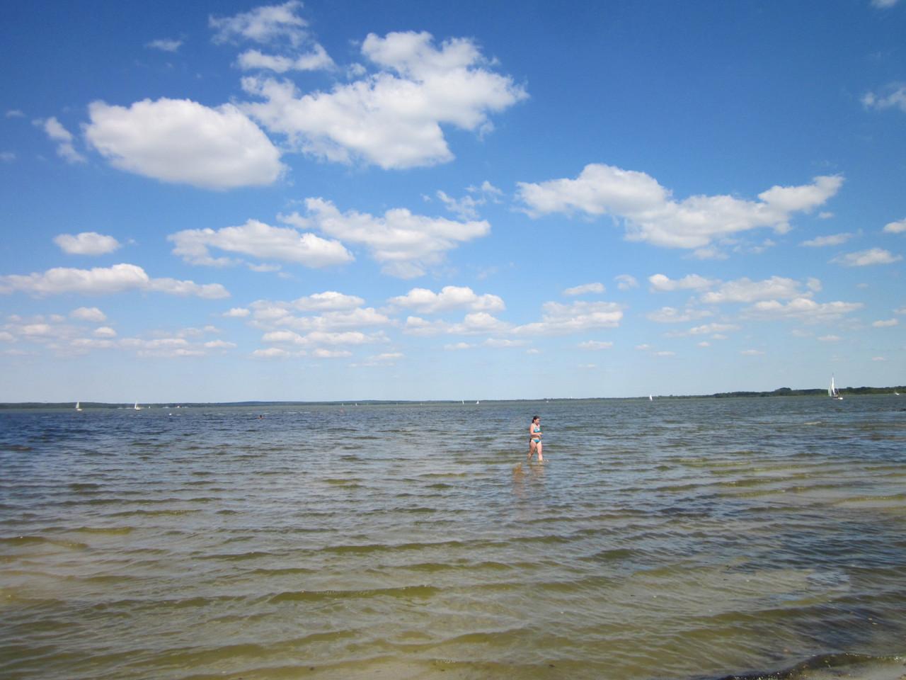 Flacher Strand