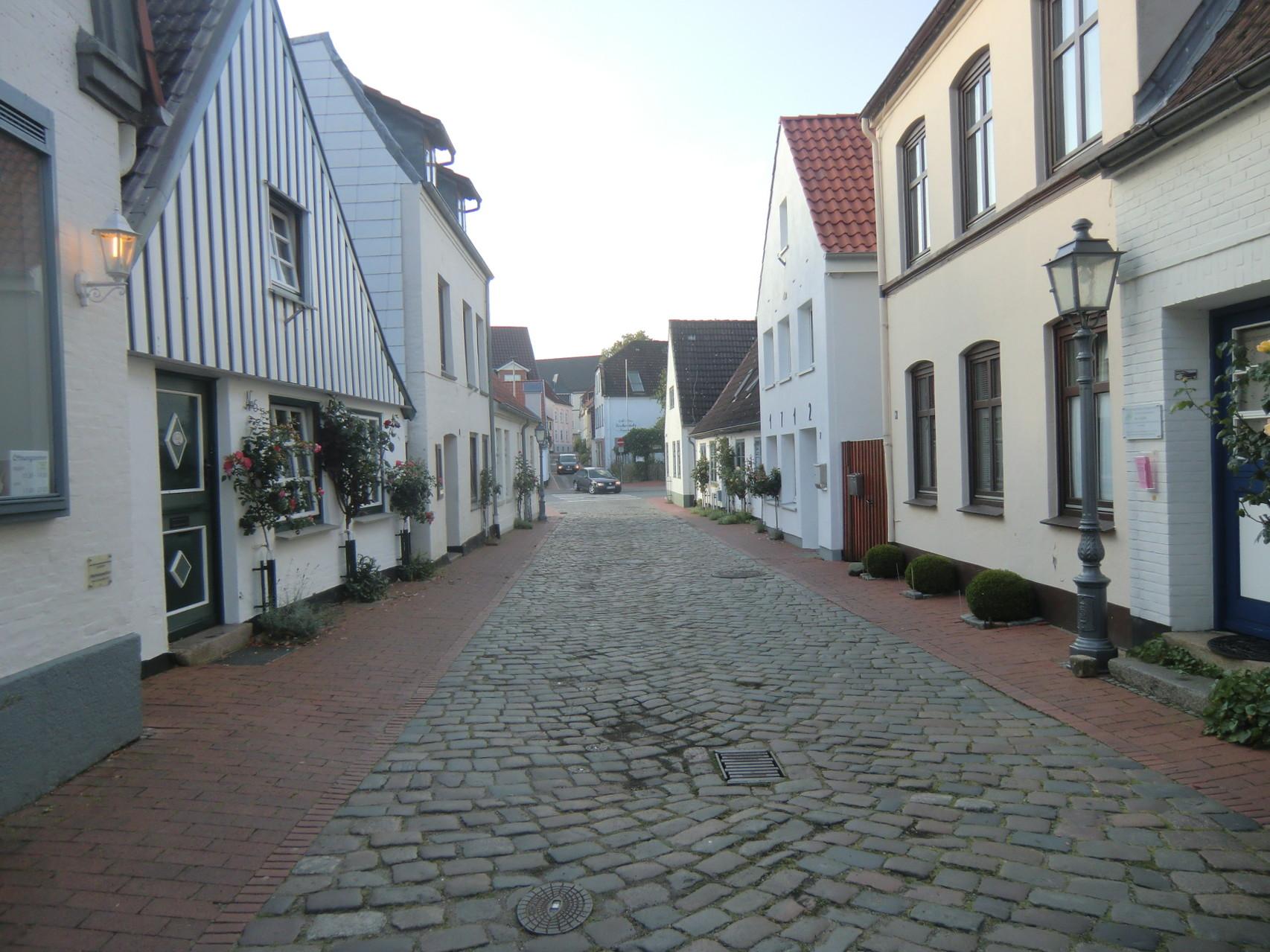 Das alte Fischerdorf nennt sich Holm