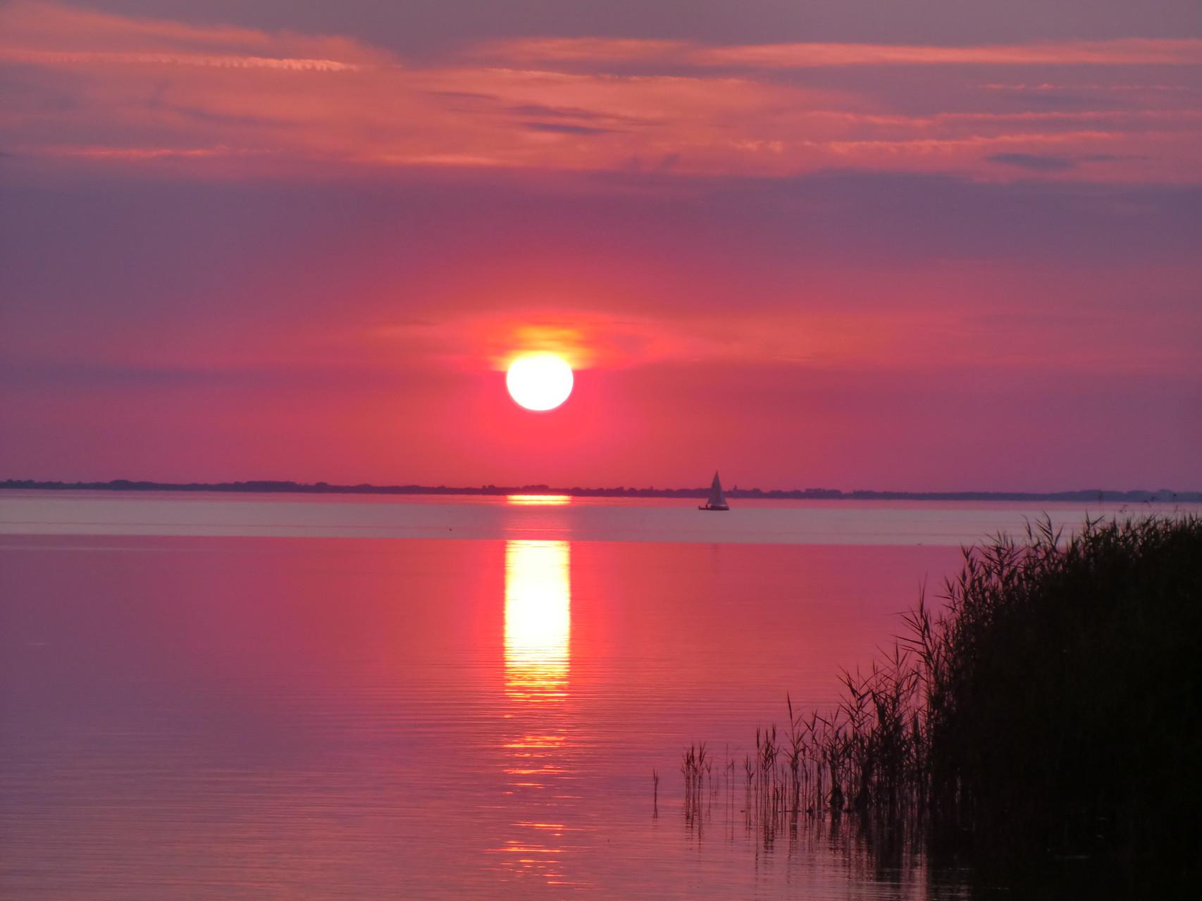 so schön können hier Sonnenuntergänge sein