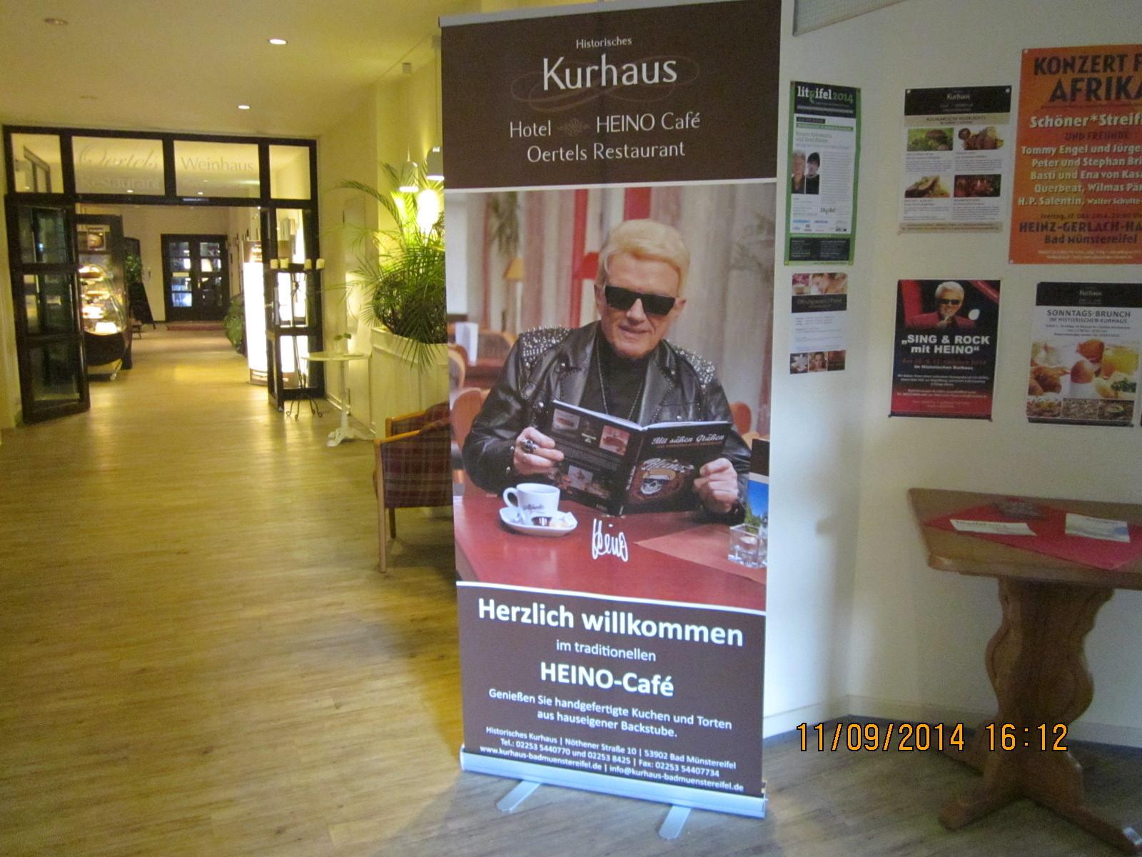 Heinos Cafe im Kurhaus