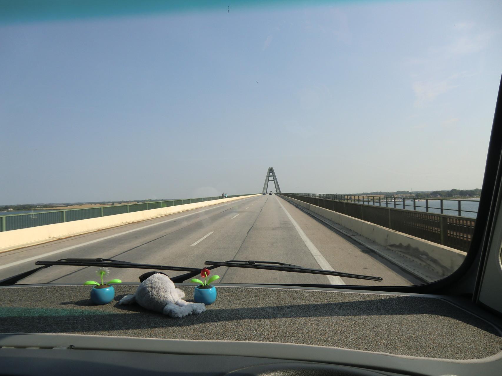 Die Fehmarnsund-Brücke