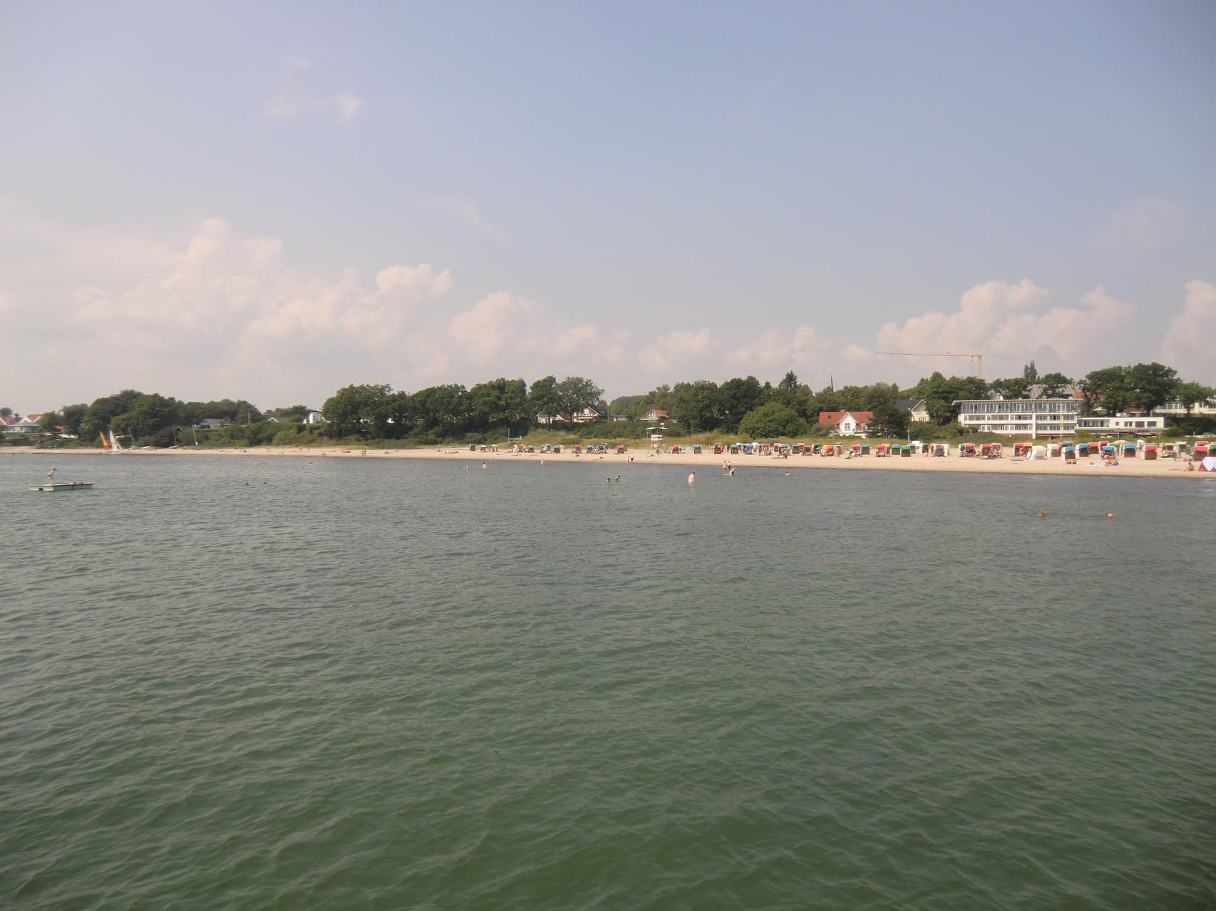Blick von der Seebrücke Richtung Neustadt