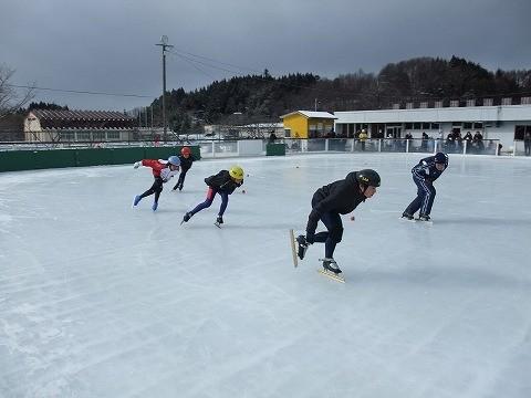 石川町氷上ふれあいまつり 母畑レークサイドスケートリンク