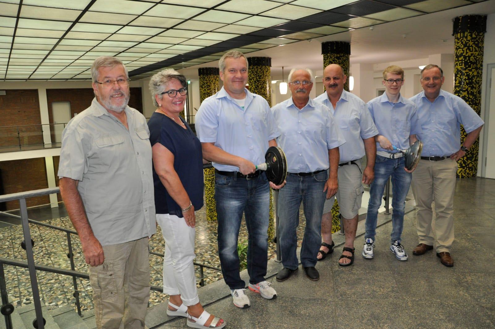 Ehrung durch den Bürgermeister anläßlich der NRW Meisterschaft