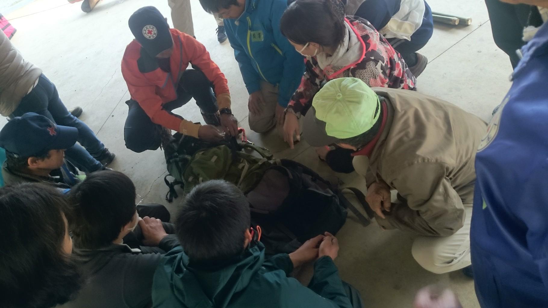 総合救護訓練