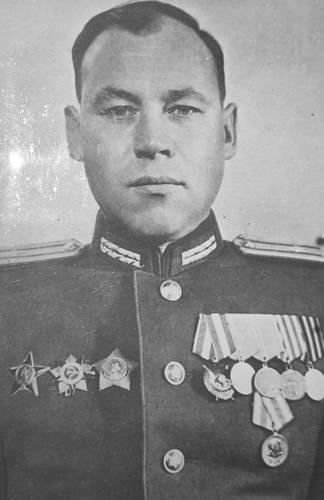 Підполковник Агєєв – начальник штабу  340 стрілецької дивізії