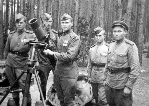 Бійці 491-го окремого мінометного полку