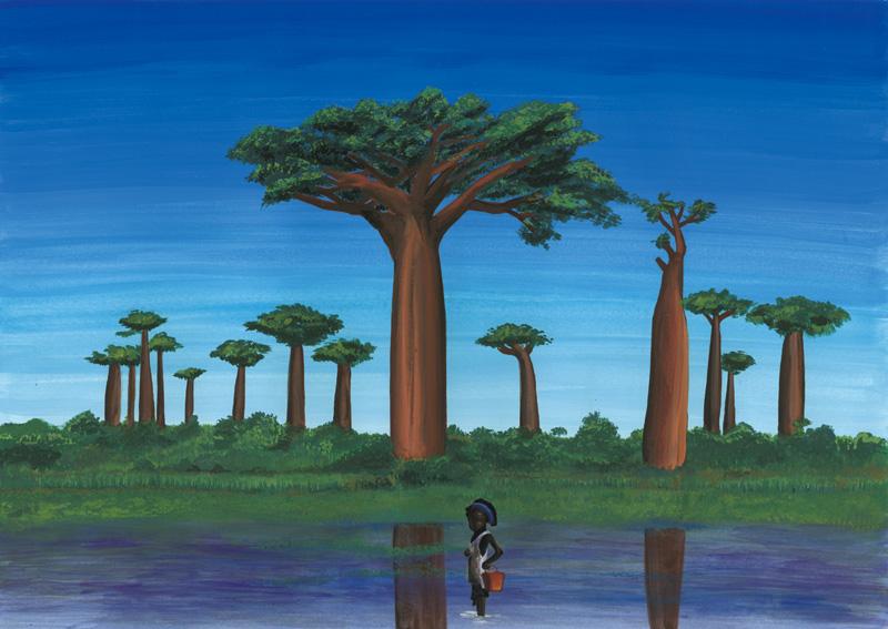 バオバブの木🌳