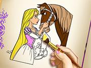 Грати в принцесу рапунцель