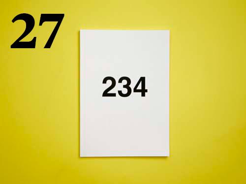 27  Jef Geys, 234
