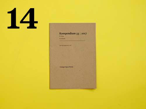 14  Åse Eg Jørgensen, Kompendium 33   2017  R i Rom – R in Rome