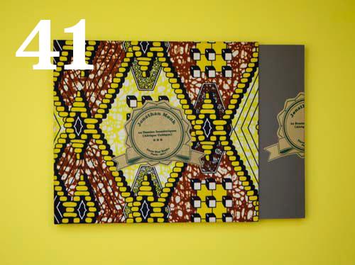 41  Jonathan Monk, 24 Dessins Isométriques (Afrique Cubique)