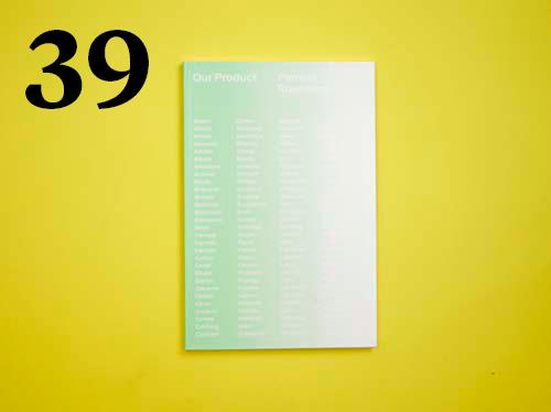39  Pamela Rosenkrantz, Our Product