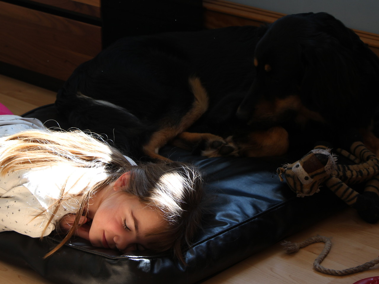 Julias Schlaf bewachen