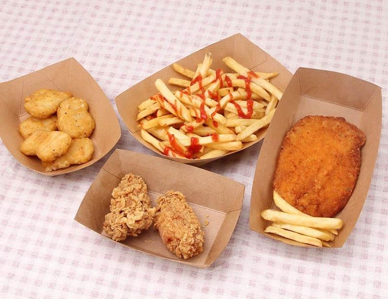 Bandeja de papel para comida,  Food Trays
