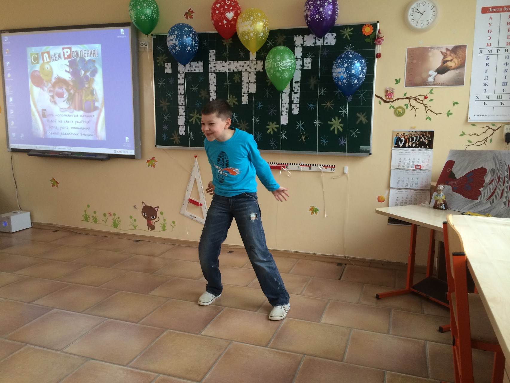 Даниель любит танцевать