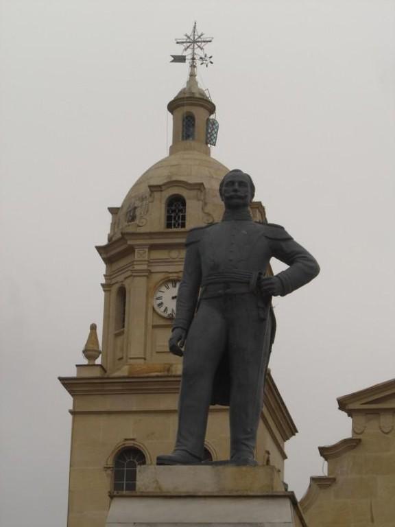 Monumento al General Reyes Santa Rosa de viterbo