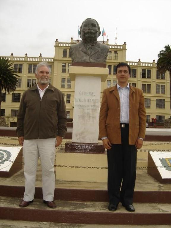 Busto del General Reyes Escuela Rafael Reyes