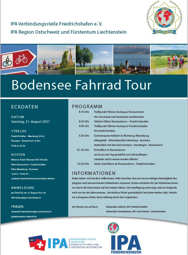 Bodensee Fahrradtour 2021
