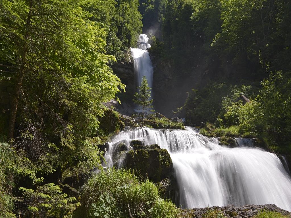 170610_0432-01_Giessbachfälle_schönes Naturspektakel bei diesen Wassermengen