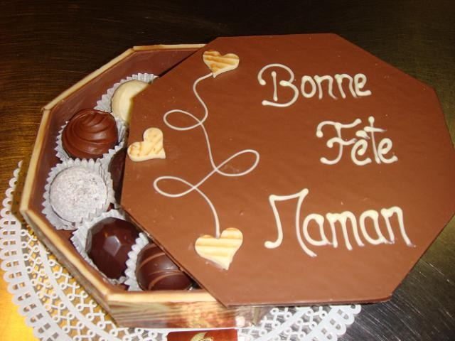"""Bonbonnière personnalisée """"fête des mères"""""""