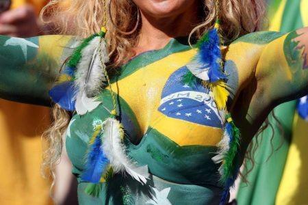Brasilianischer Fan