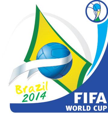 FIFA Emblem Brasilien 2014
