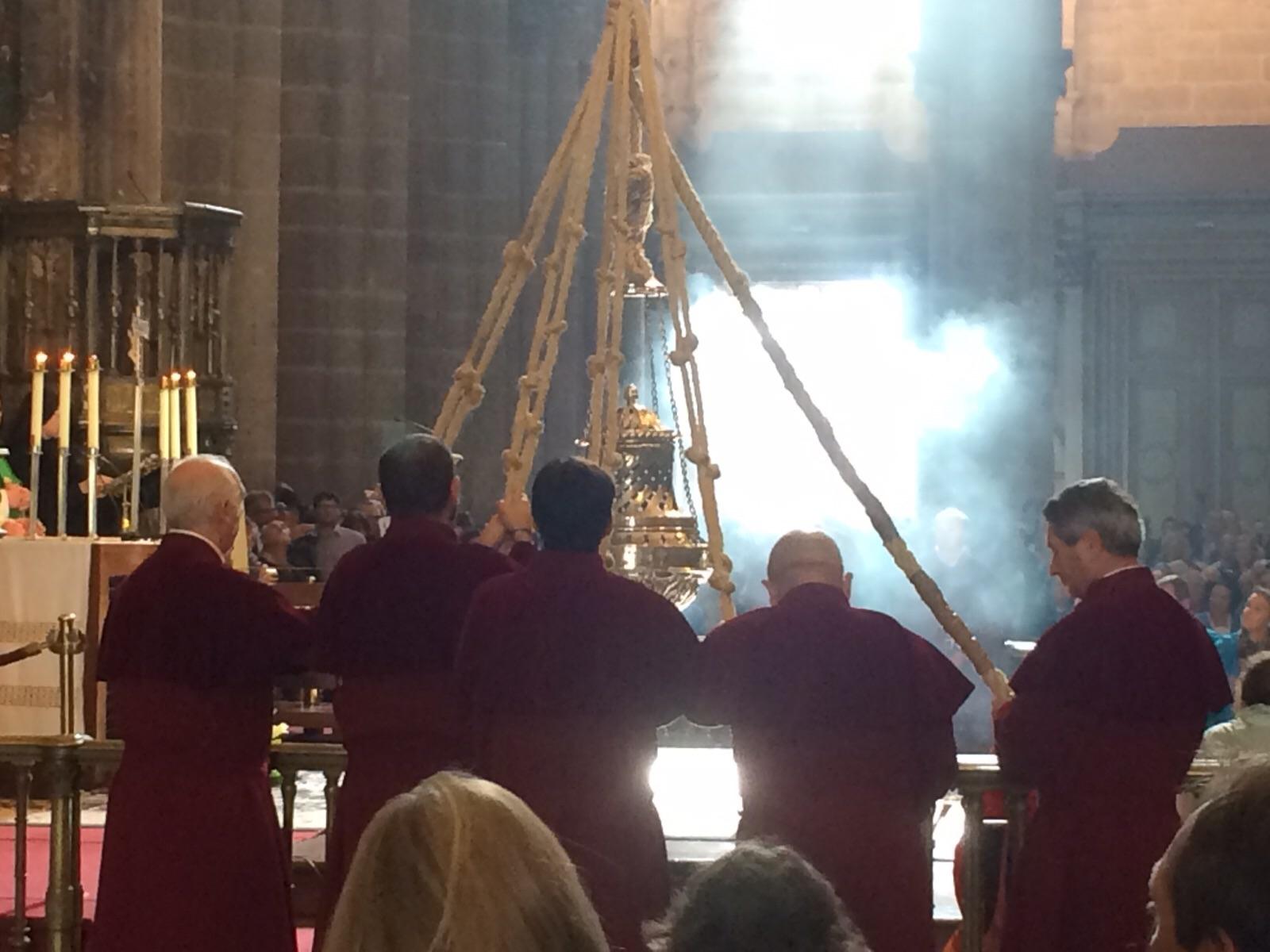 Een warm onthaal in de kathedraal