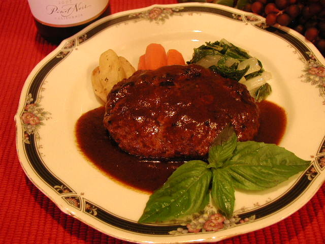 Hamburg Steak Demi Sauce