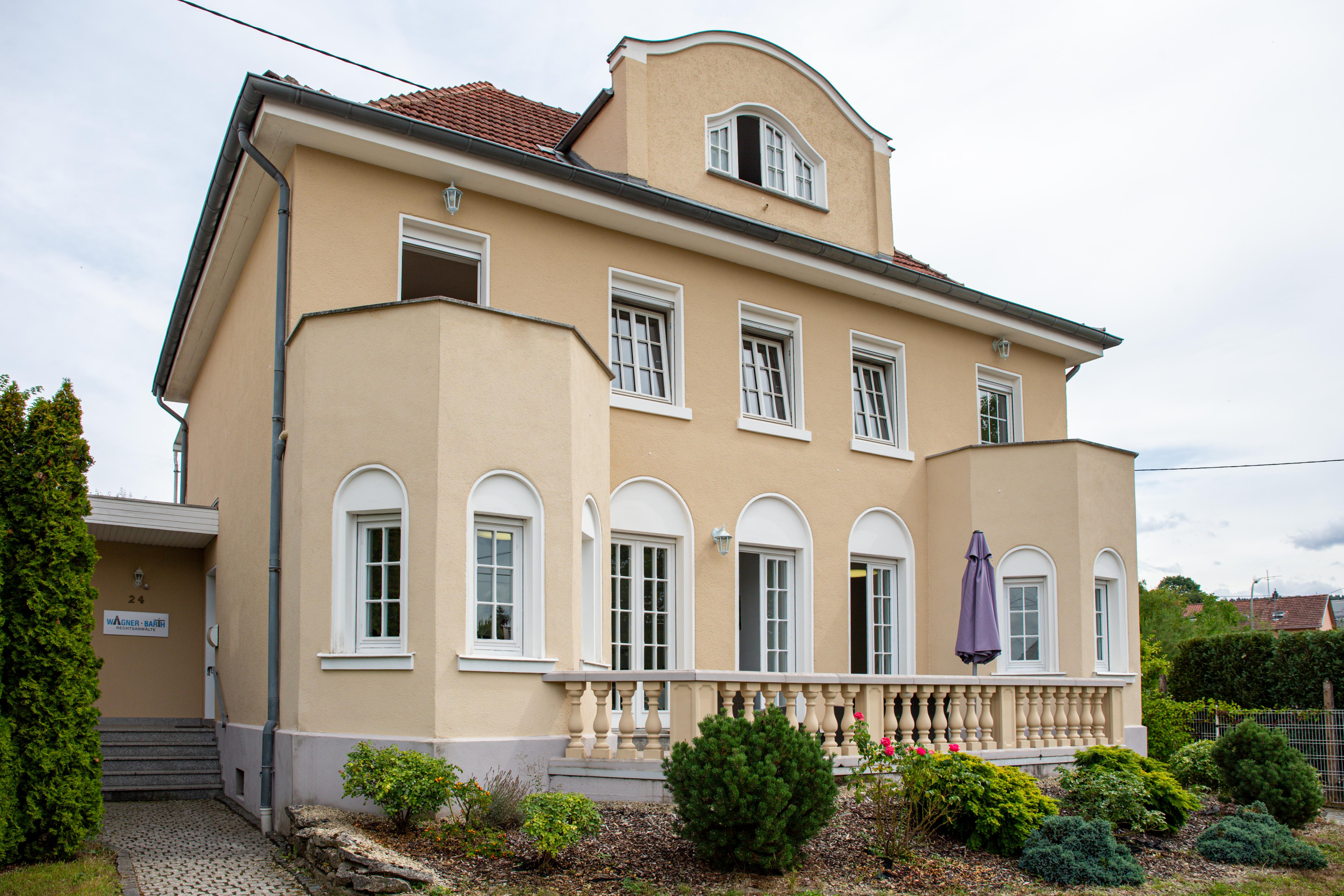 Kanzlei von Rechtsanwälte Wagner & Barth in der Waldstraße 24 in Merzig