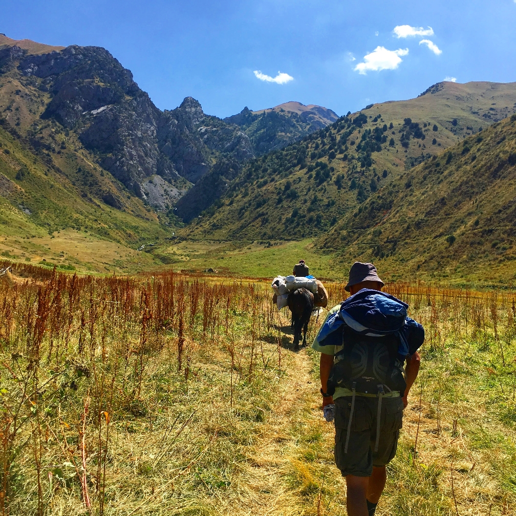 Guiding in the Kyrgyzstan mountains is the responsible thing