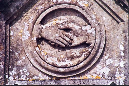 Les mains de fidelité sur le Sentier huguenot