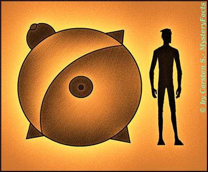 UFO-Sichtung typisch oder untypisch? Dieses Vorkommnis gehört zu den ältesten, die mit Siegel beglaubigt wurden.