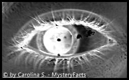 """Das """"dritte Auge"""". Mit ihm kann man angeblich mehr wahrnehmen und das Bewusstsein wird gesteigert."""