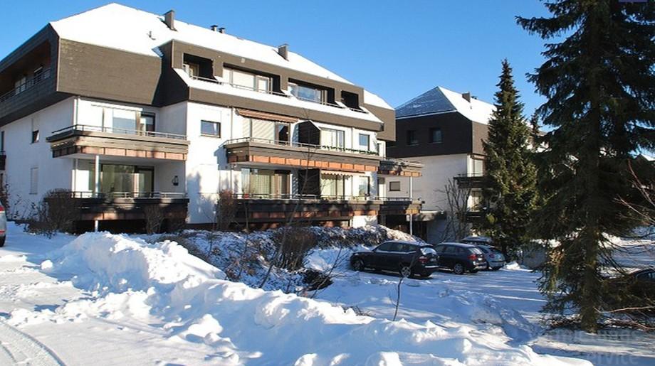 Haus im Winter (Quelle: Vermietungsservice Winterberg)