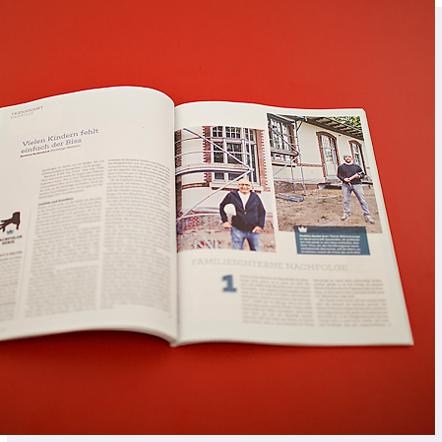 Magazin mit Artikel über Manfred Krafft GmbH