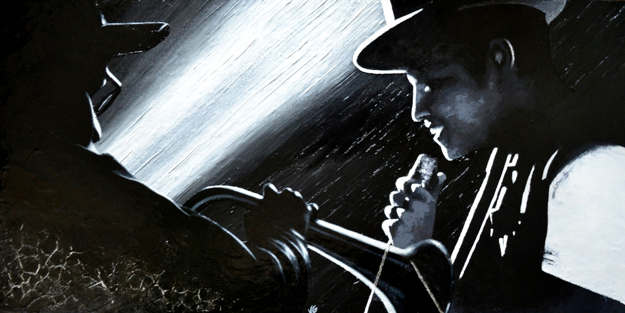 Doo-Wops & Hooligans, 100x50cm, technique mixte, 2013