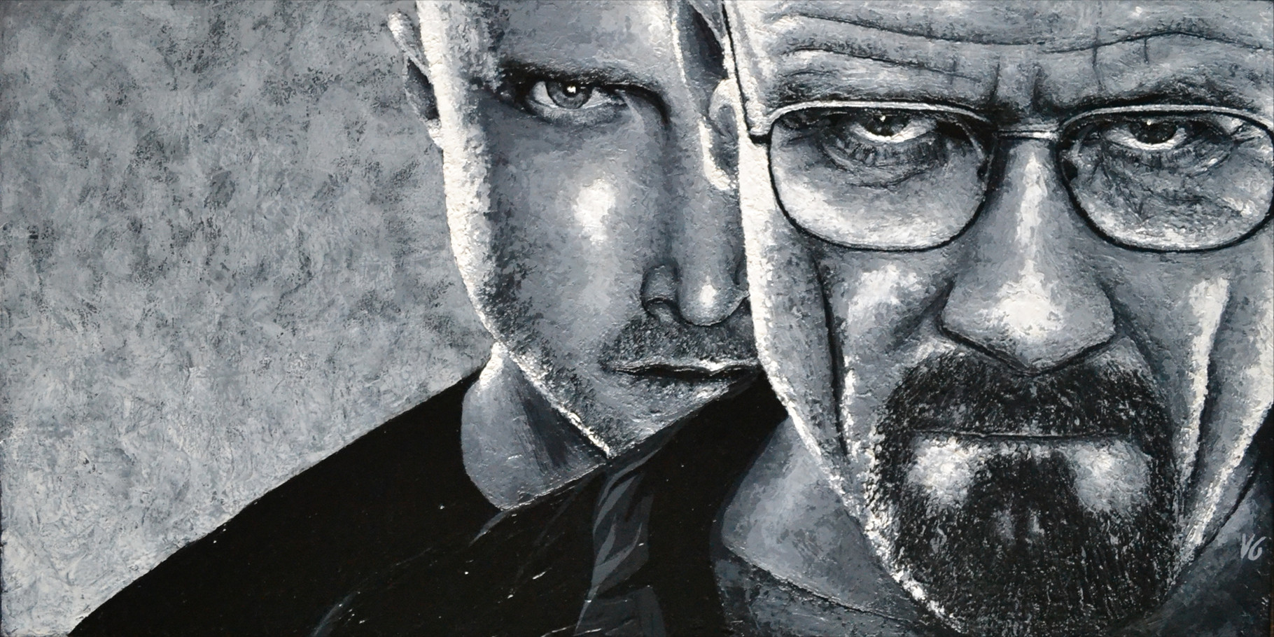 Breaking Bad, 40x80, technique mite, 2012