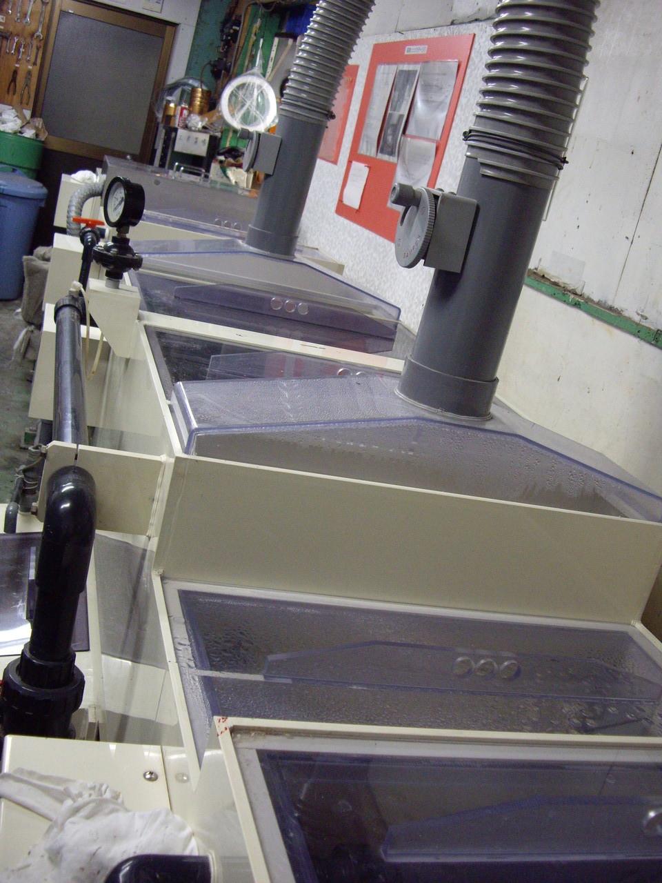 アルマイト焼付印刷設備
