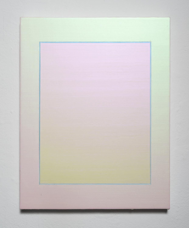 Rainbow Blue, Oil on canvas, 35×28cm, 2020