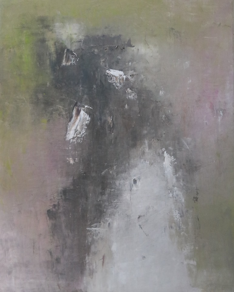 雨のあとに, 2020, oil on canvas, F150
